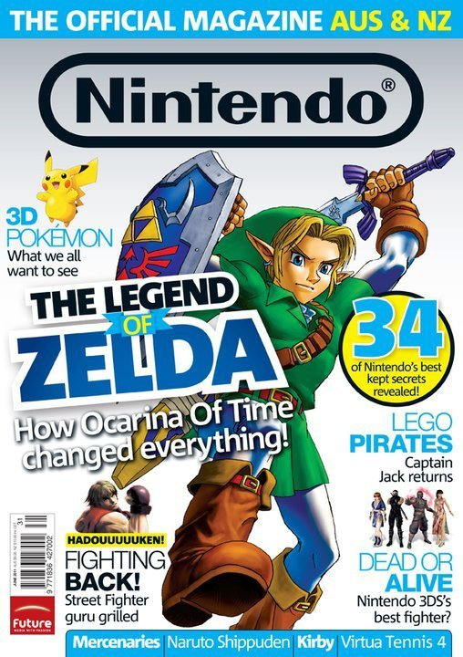 Nintendo: The Official Magazine Issue 31 (July 2011)