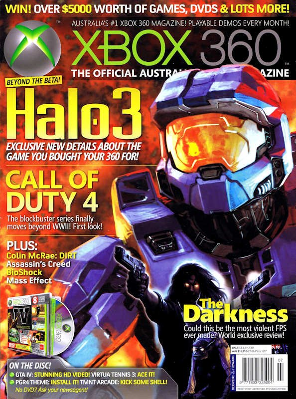 Official XBox 360 Magazine (AUS) Issue 17 (July 2007)