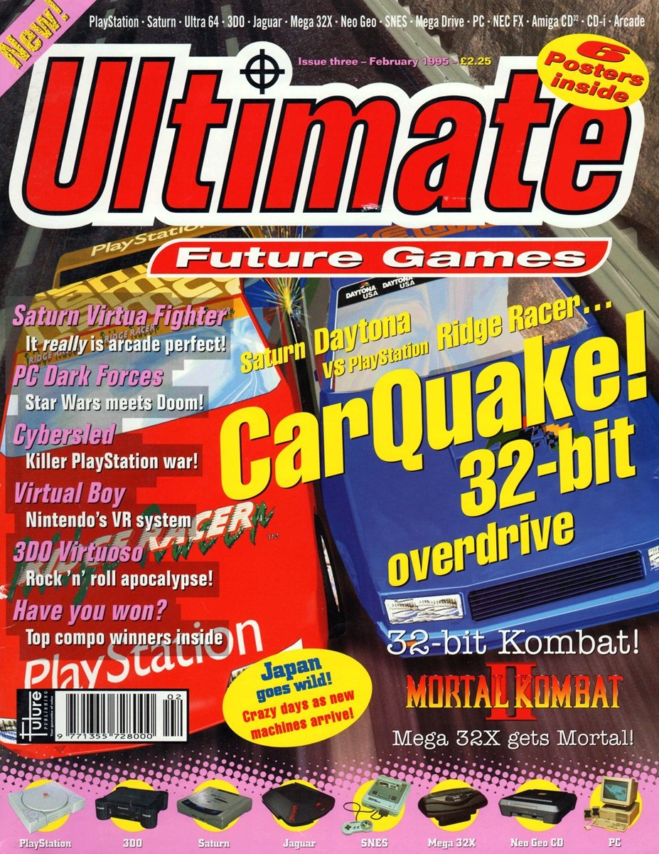 Ultimate Future Games 03 (February 1995)
