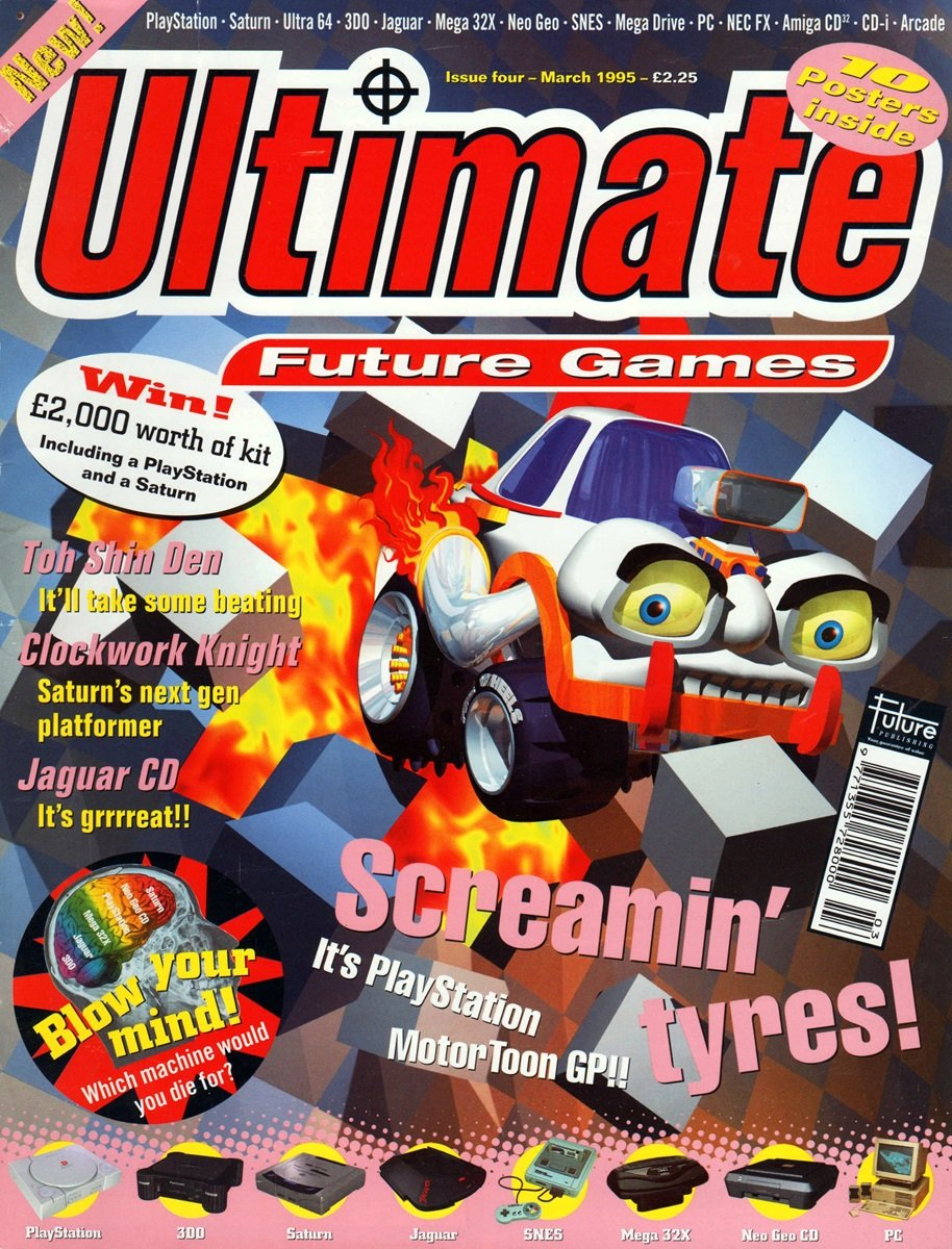 Ultimate Future Games 04 (March 1995)