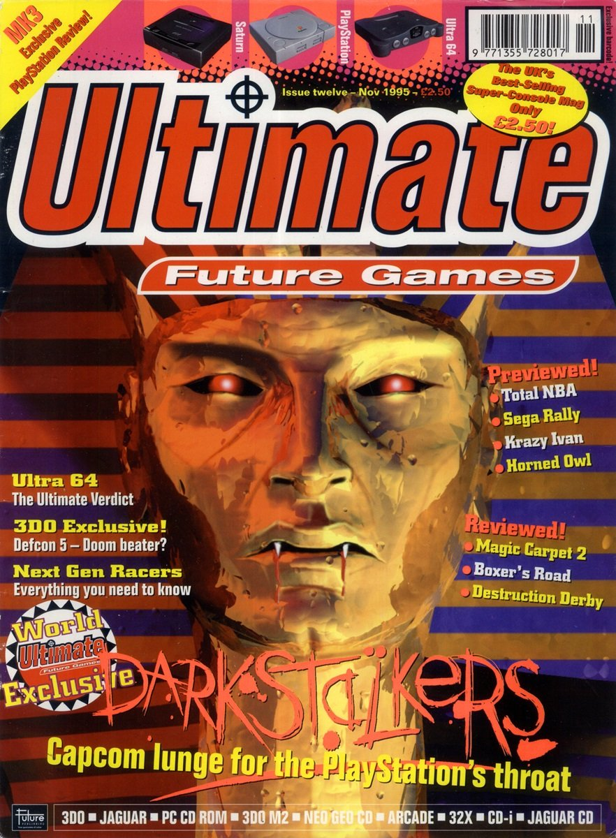 Ultimate Future Games 12 (November 1995)