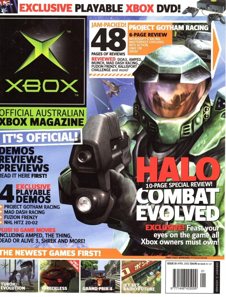 Official XBox Magazine (AUS) Issue 01 (April 2002)