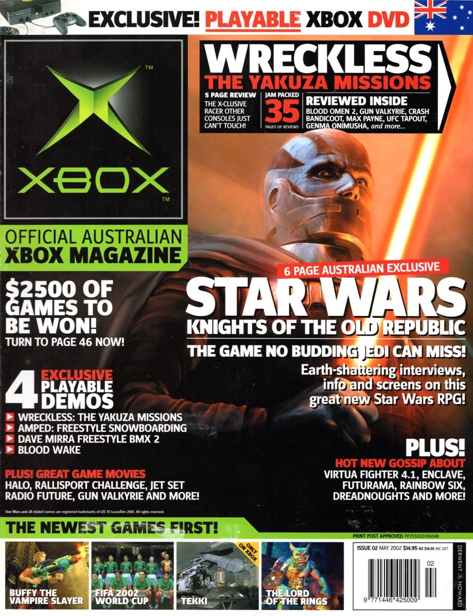 Official XBox Magazine (AUS) Issue 02 (May 2002)
