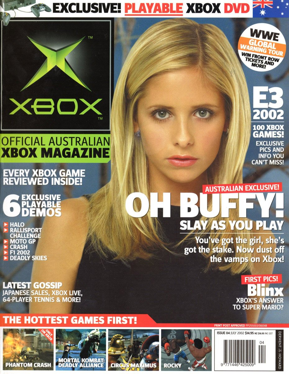 Official XBox Magazine (AUS) Issue 04 (July 2002)