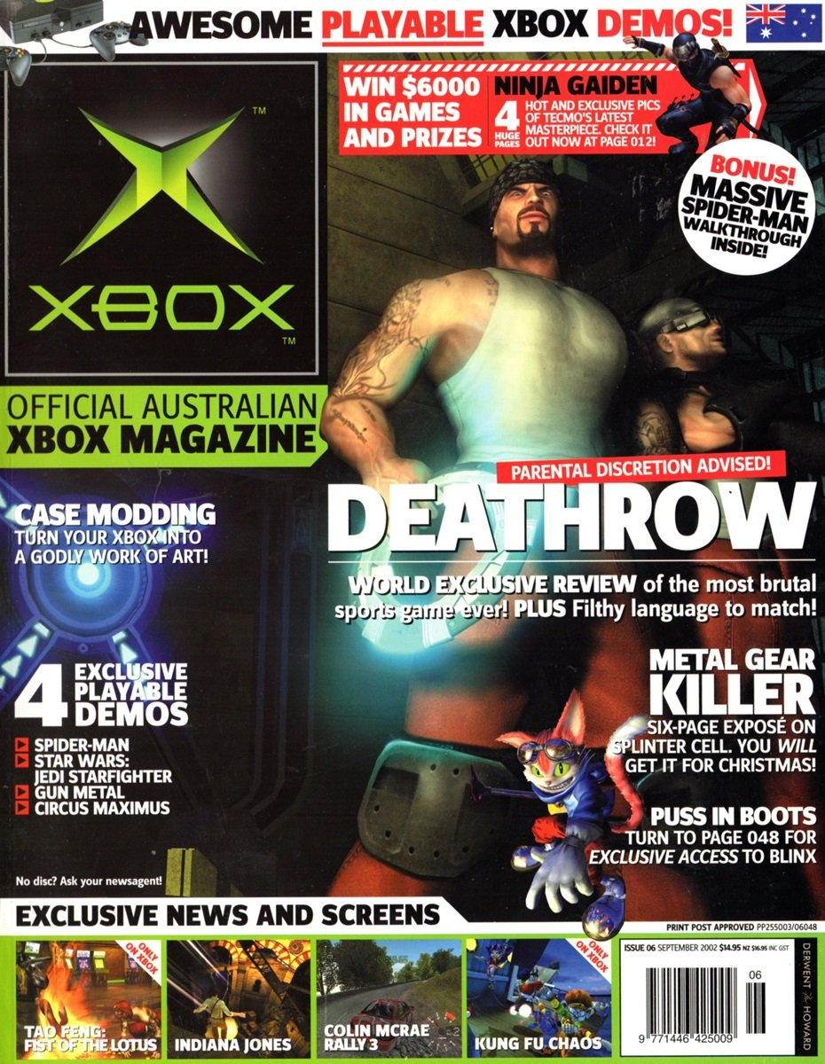 Official XBox Magazine (AUS) Issue 06 (September 2002)