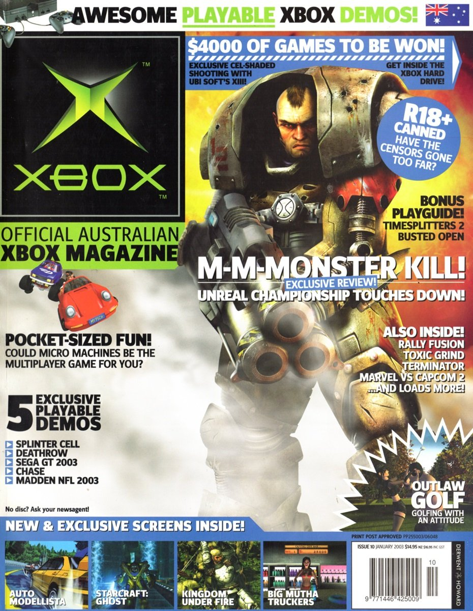 Official XBox Magazine (AUS) Issue 10 (January 2003)