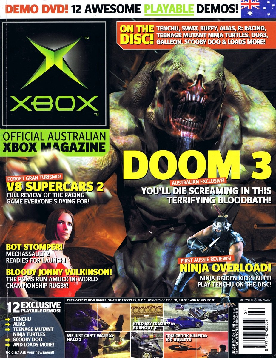 Official XBox Magazine (AUS) Issue 27 (May 2004)