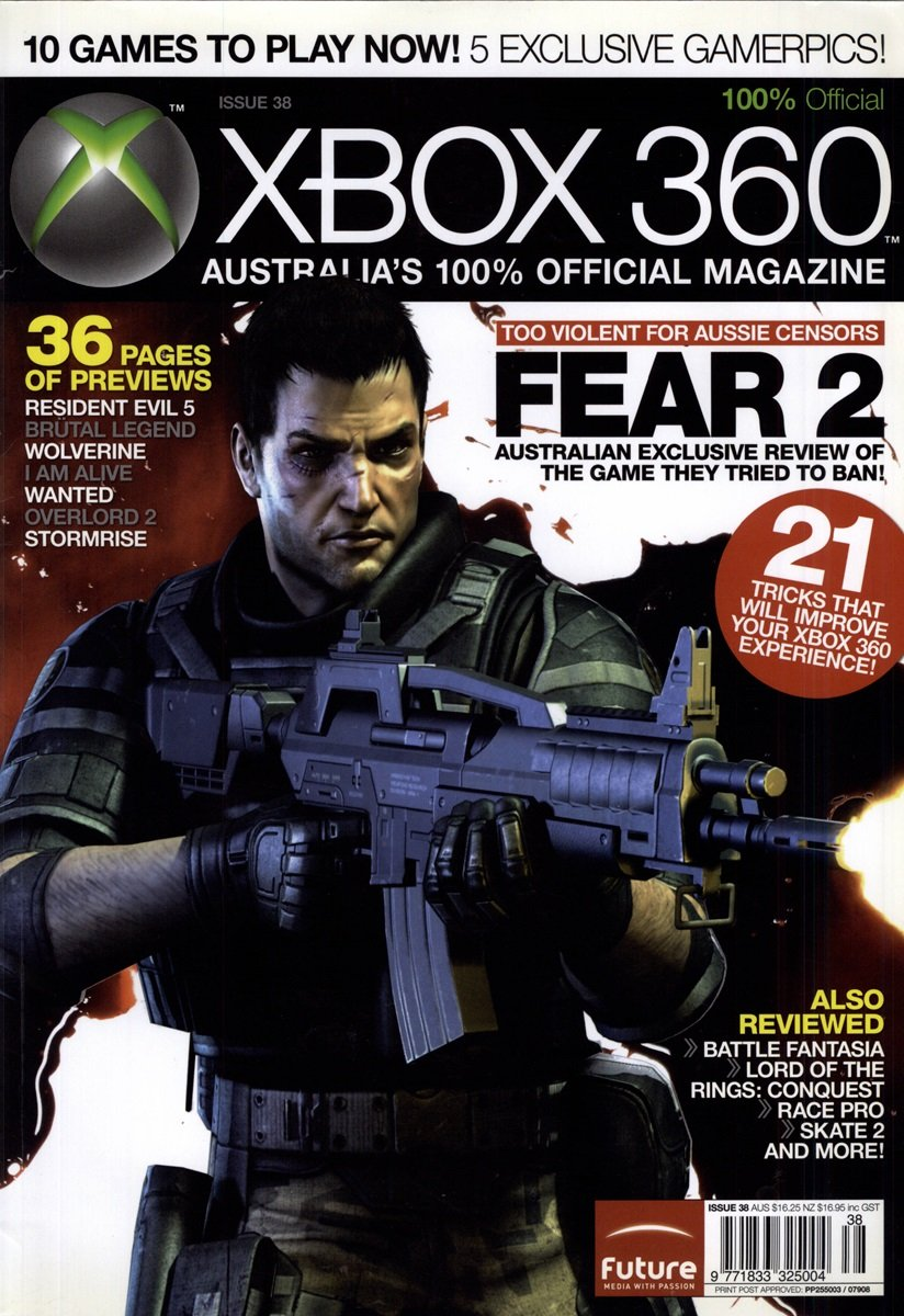 Official XBox 360 Magazine (AUS) Issue 38