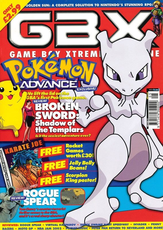 GBX Issue 11 (May 2002)