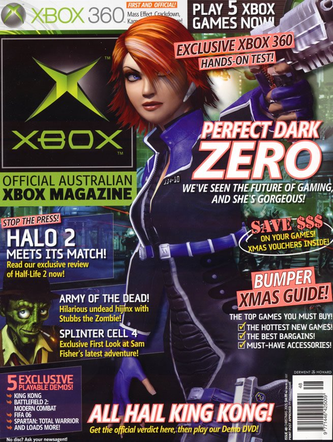 Official XBox Magazine (AUS) Issue 48 (November 2005)