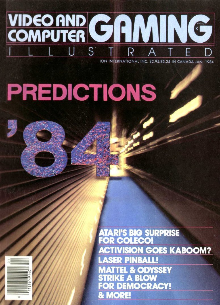 Videogaming Illustrated Issue 13 (January 1984)