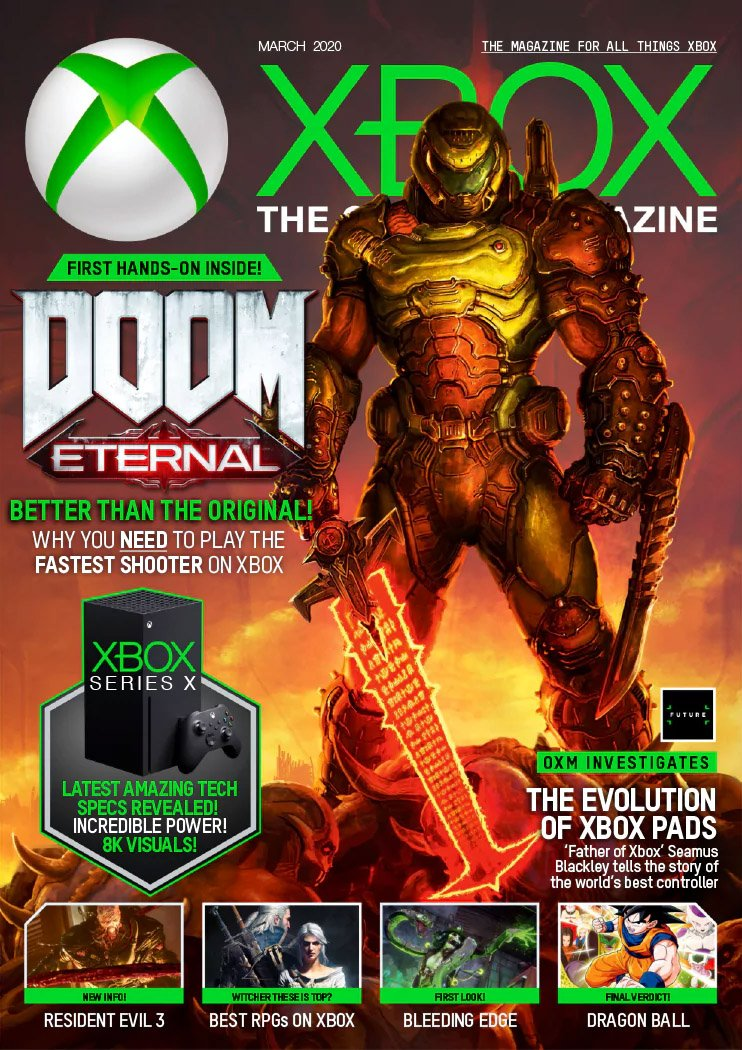 XBOX The Official Magazine Issue 187 (March 2020)