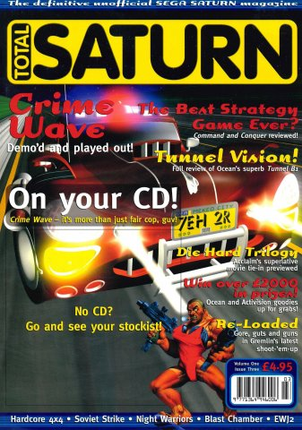 Total Saturn Issue 3 (December 1996)