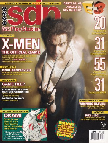 Super Dicas Playstation 36 (July 2006)