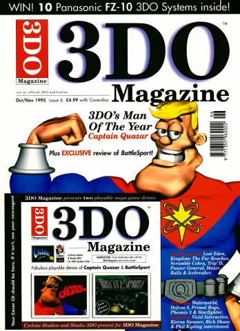 3DO Magazine UK Issue 06 October/November 1995