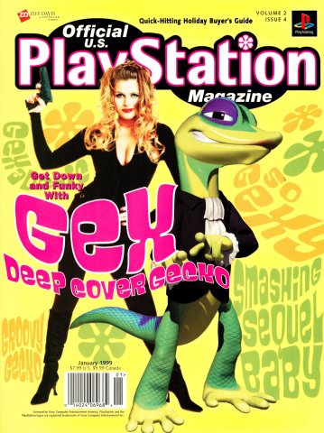Official U.S. PlayStation Magazine Issue 016 (January 1999)