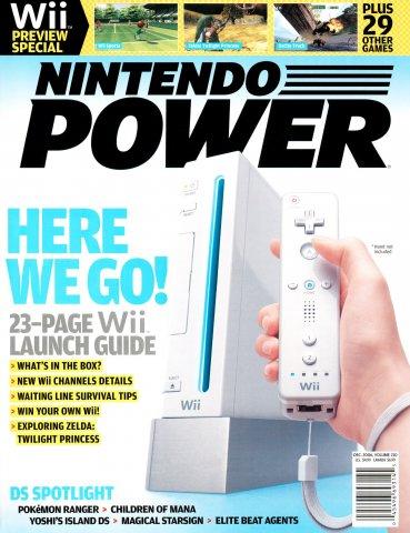 Nintendo Power Issue 210 (December 2006)