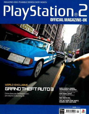 Official Playstation 2 Magazine UK 003 (January 2001)