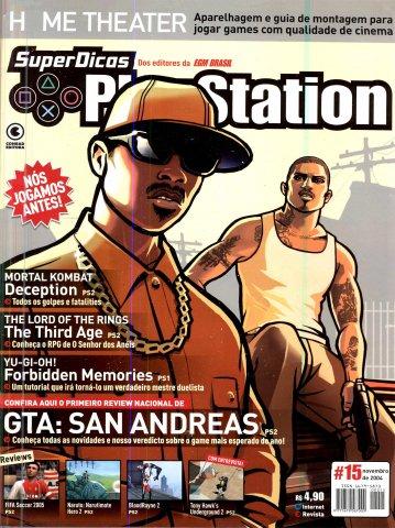 Super Dicas Playstation 15 (November 2004)