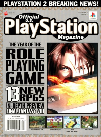 Official U.S. PlayStation Magazine Issue 019 (April 1999)