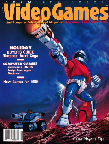 Video Games & Computer Entertainment Issue 01 December 1988
