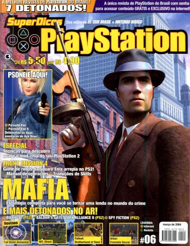 Super Dicas Playstation 06 (March 2004)
