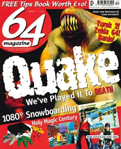 64 Magazine Issue 12 (May 1998)