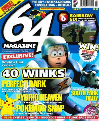 64 Magazine Issue 32 (January 2000)