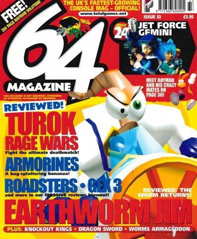 64 Magazine Issue 33 (February 2000)