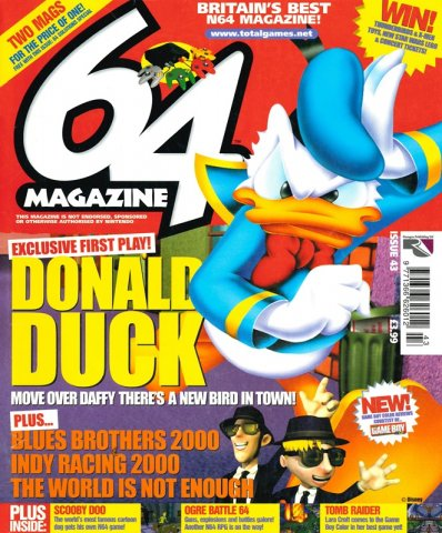 64 Magazine Issue 43 (December 2000)