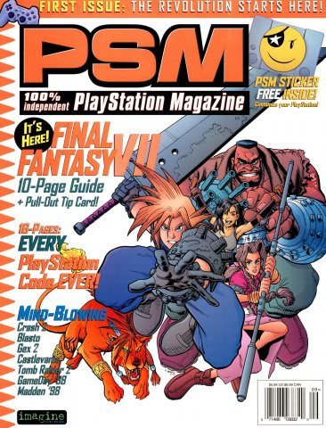PSM Issue 001 September 1997