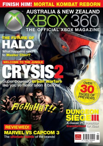Official XBox 360 Magazine (AUS) Issue 65