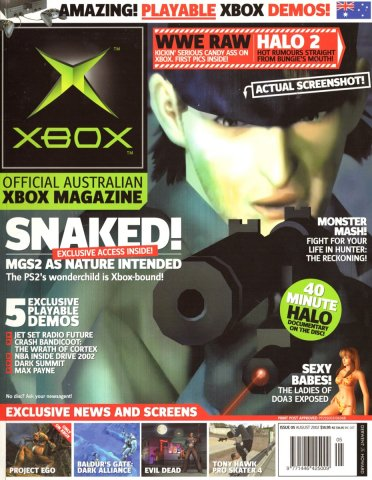 Official XBox Magazine (AUS) Issue 05 (August 2002)