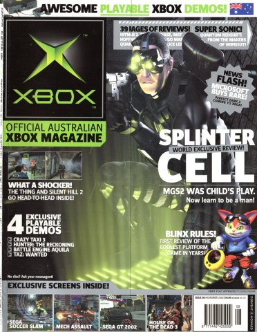 Official XBox Magazine (AUS) Issue 08 (November 2002)