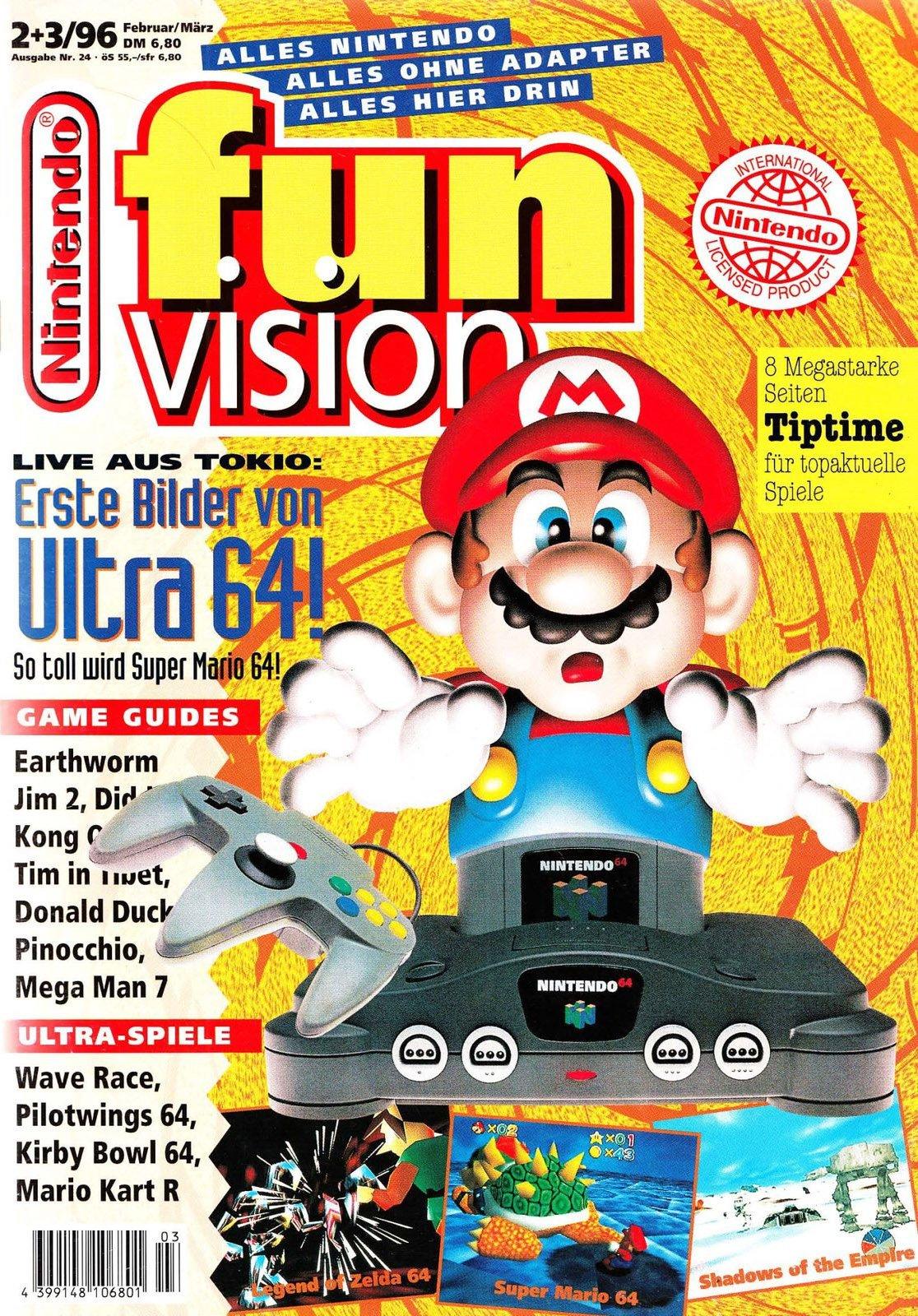 Nintendo Fun Vision Issue 24 (February 1996)