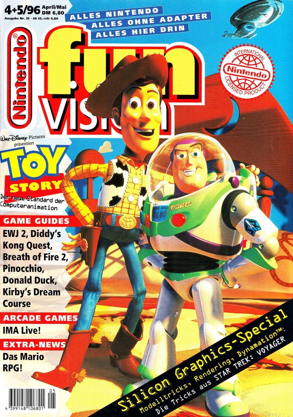 Nintendo Fun Vision Issue 26 (April/May 1996)