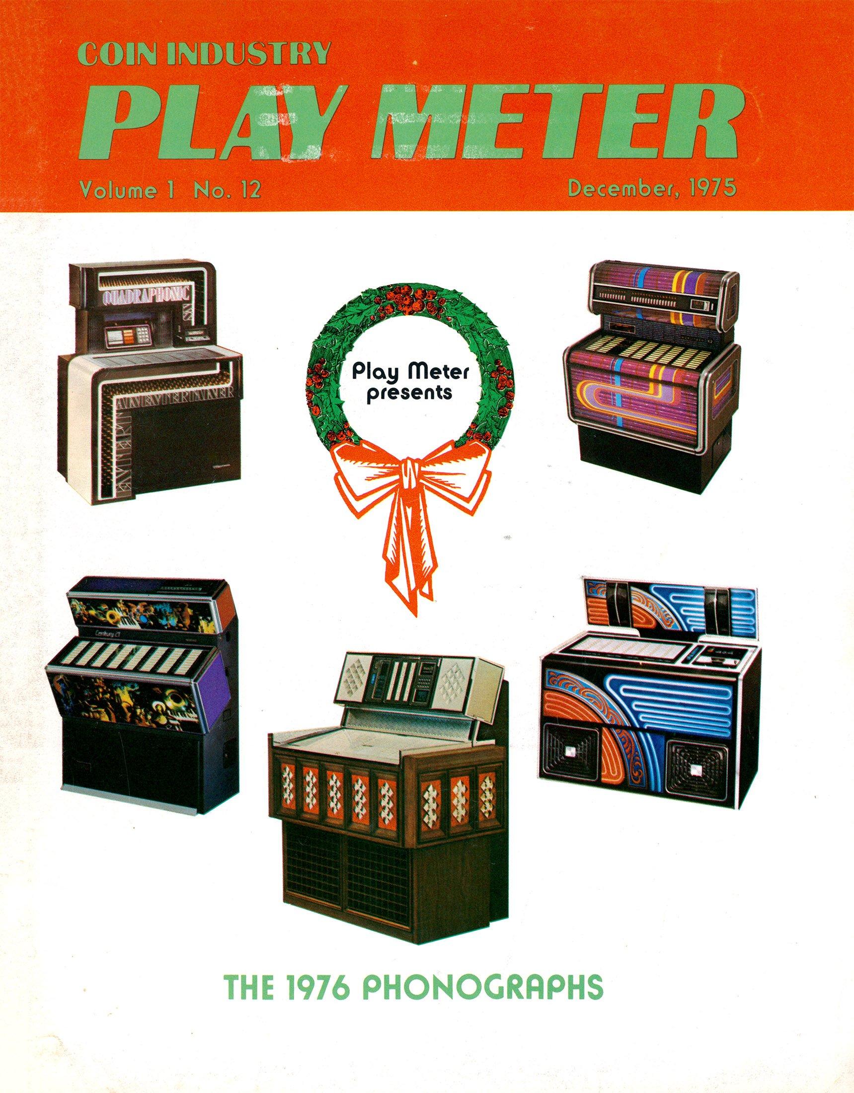 Play Meter Vol.1 No.12 (December 1975)