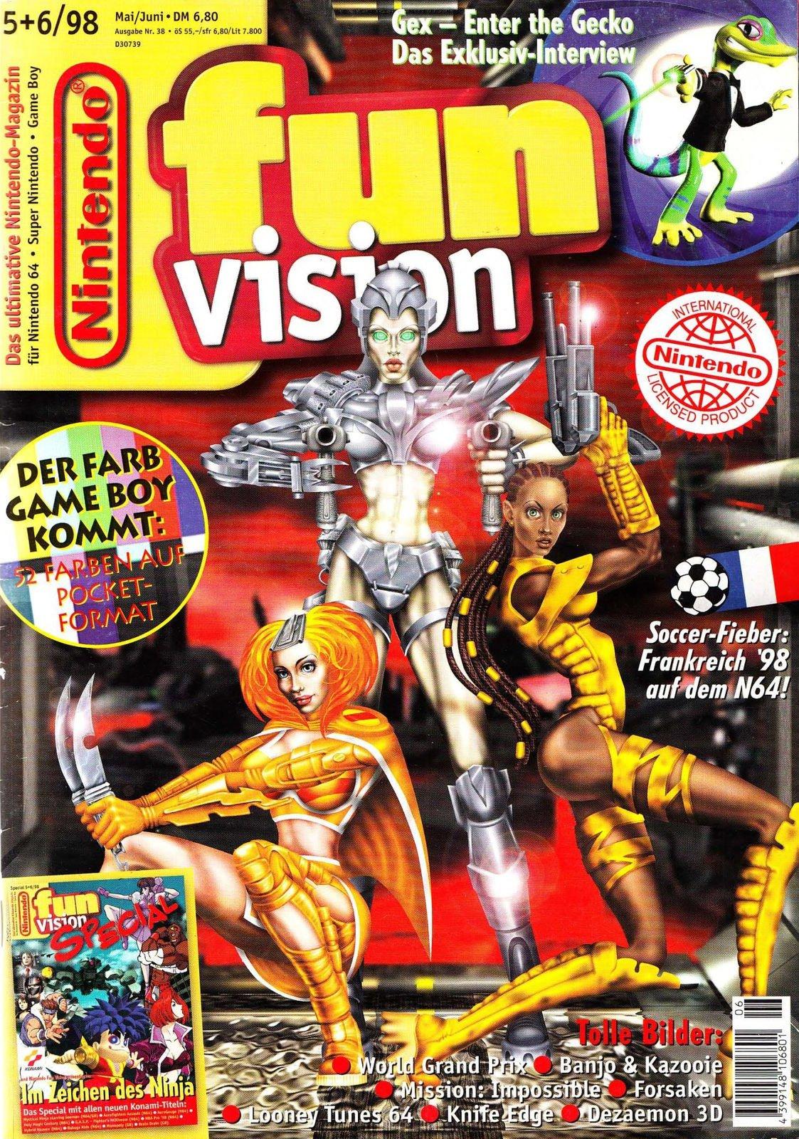 Nintendo Fun Vision Issue 50 (May / June 1998)