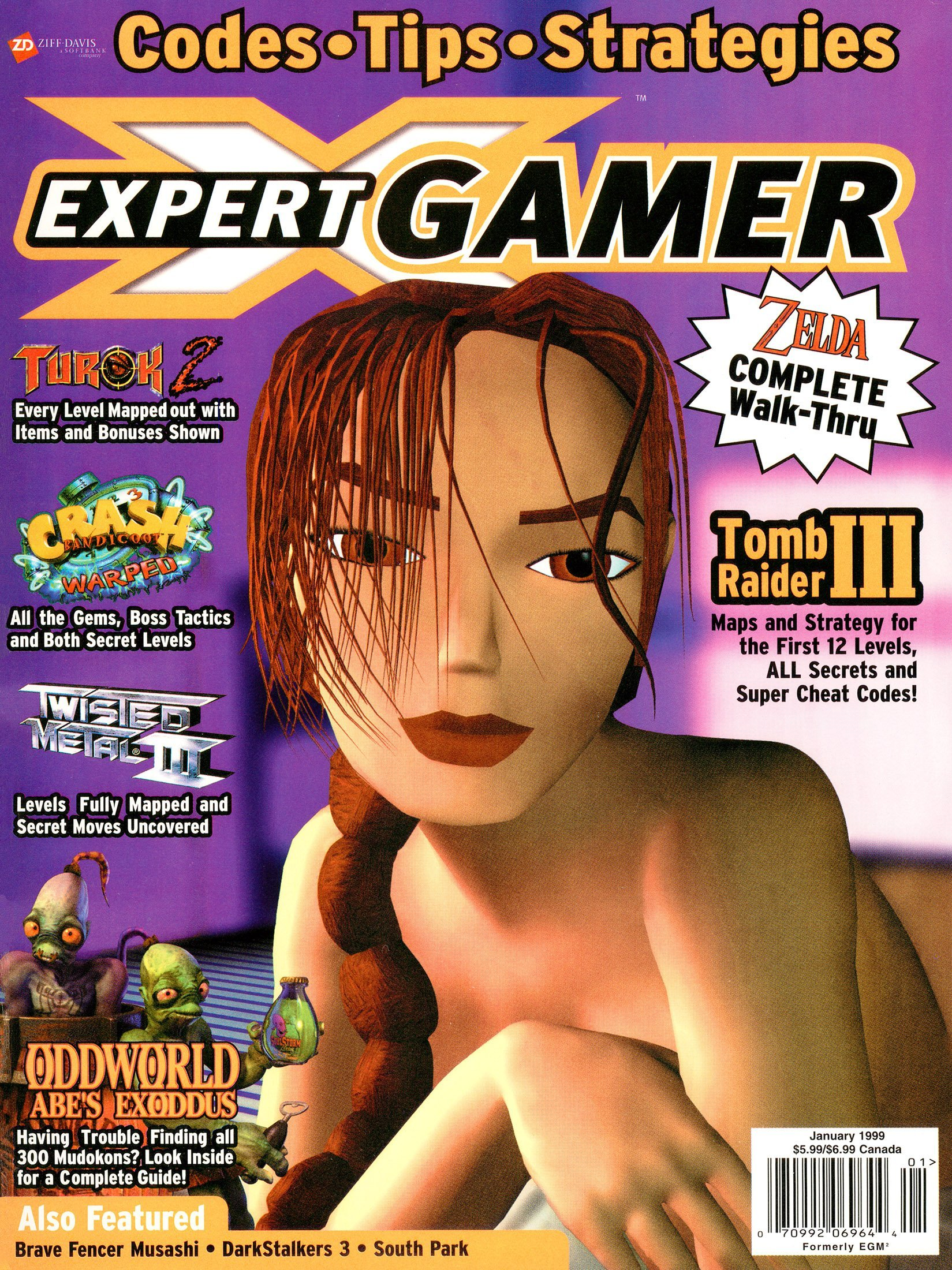 Expert Gamer Issue 55 (January 1999)