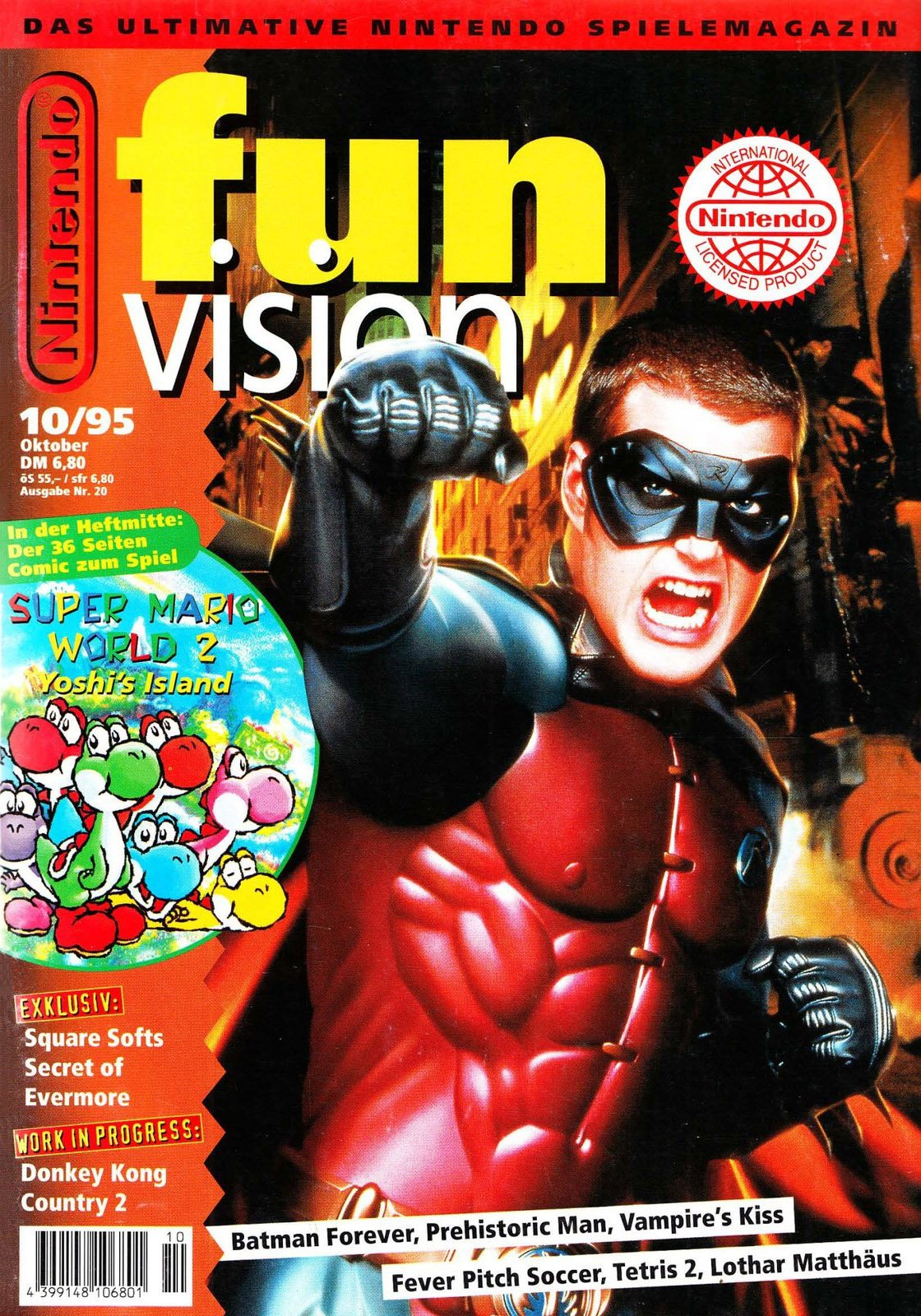 Nintendo Fun Vision Issue 20 (October 1995)