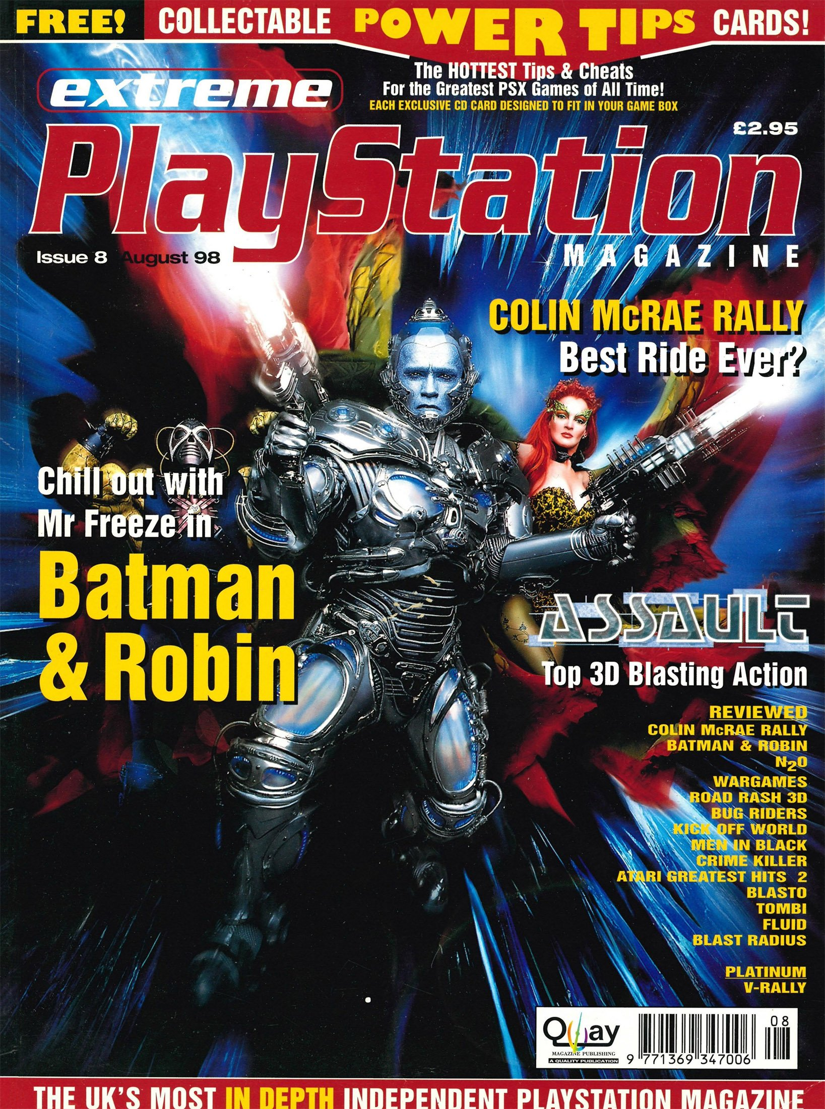 Extreme Playstation Issue 08 (August 1998)