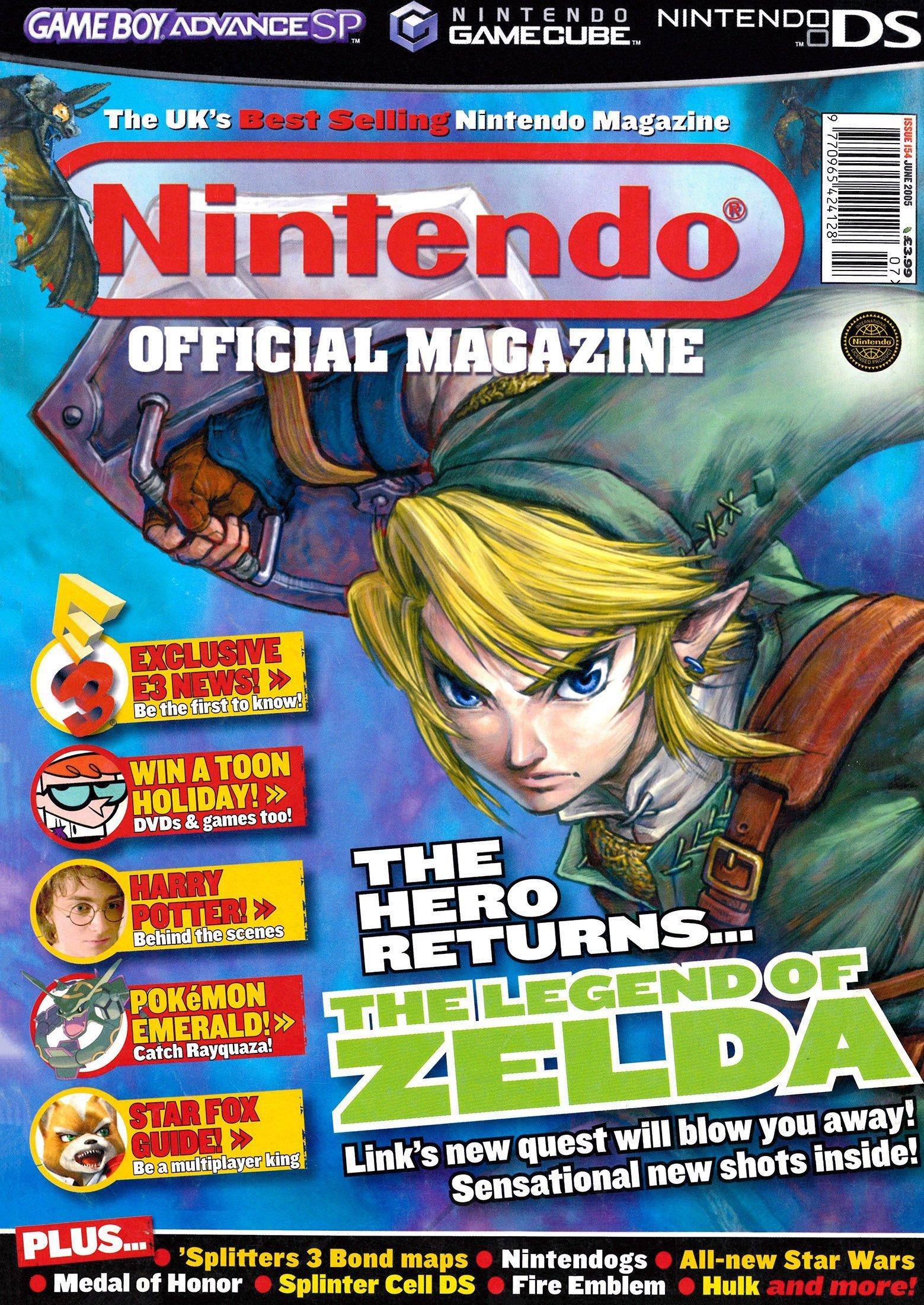 Nintendo Official Magazine 154 (June 2005)