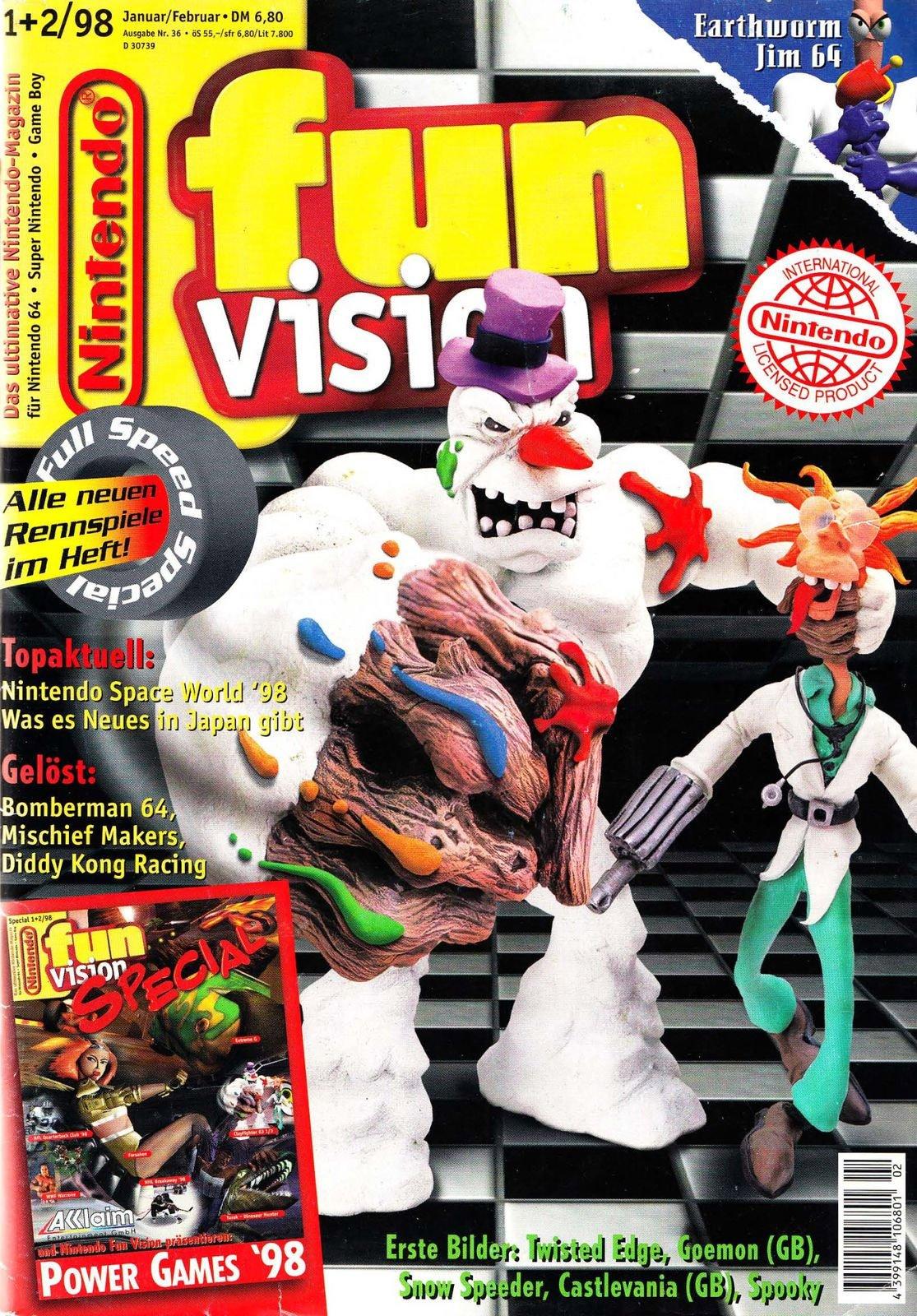 Nintendo Fun Vision Issue 46 (January / February 1998)