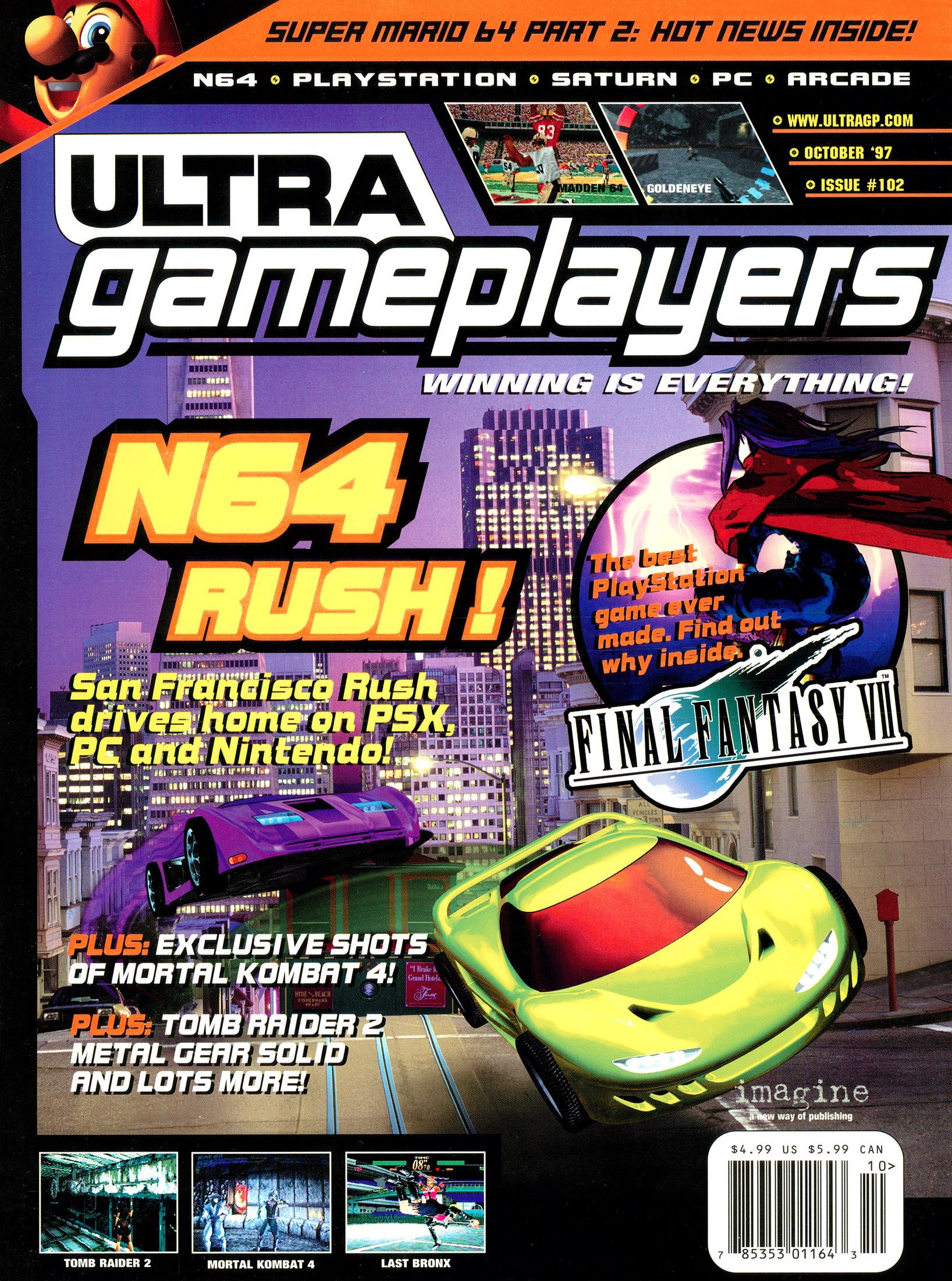 Ultra Game Players Issue 102