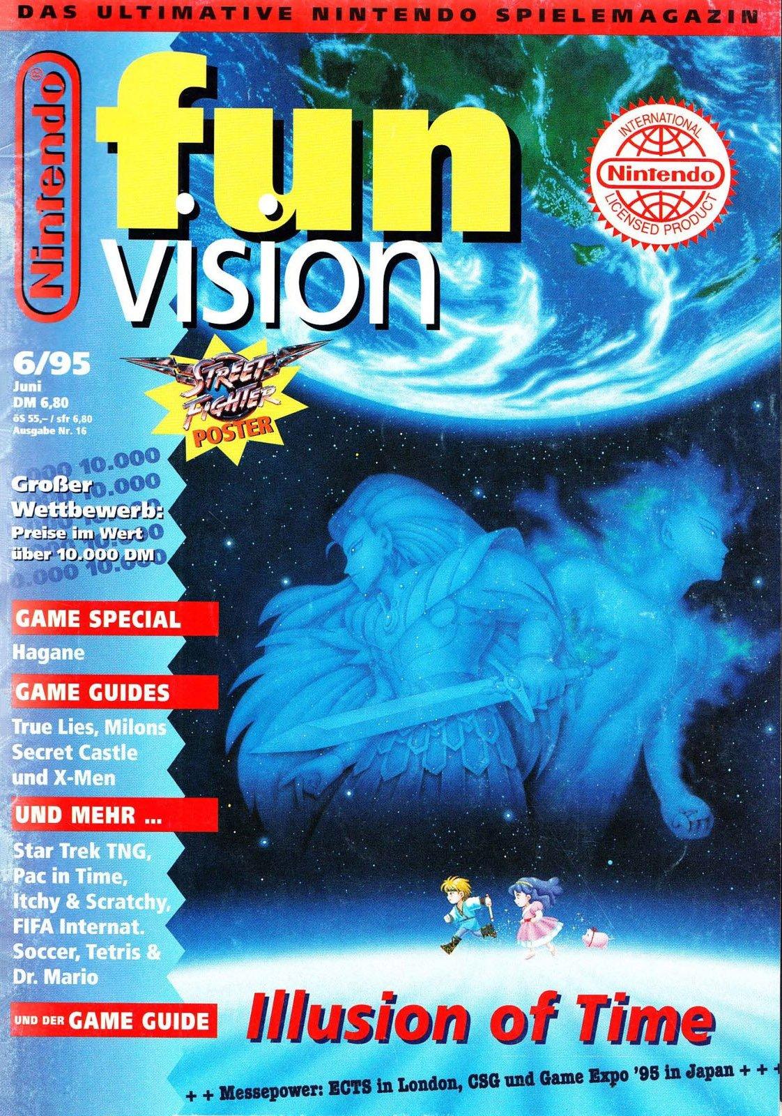 Nintendo Fun Vision Issue 16 (June 1995)