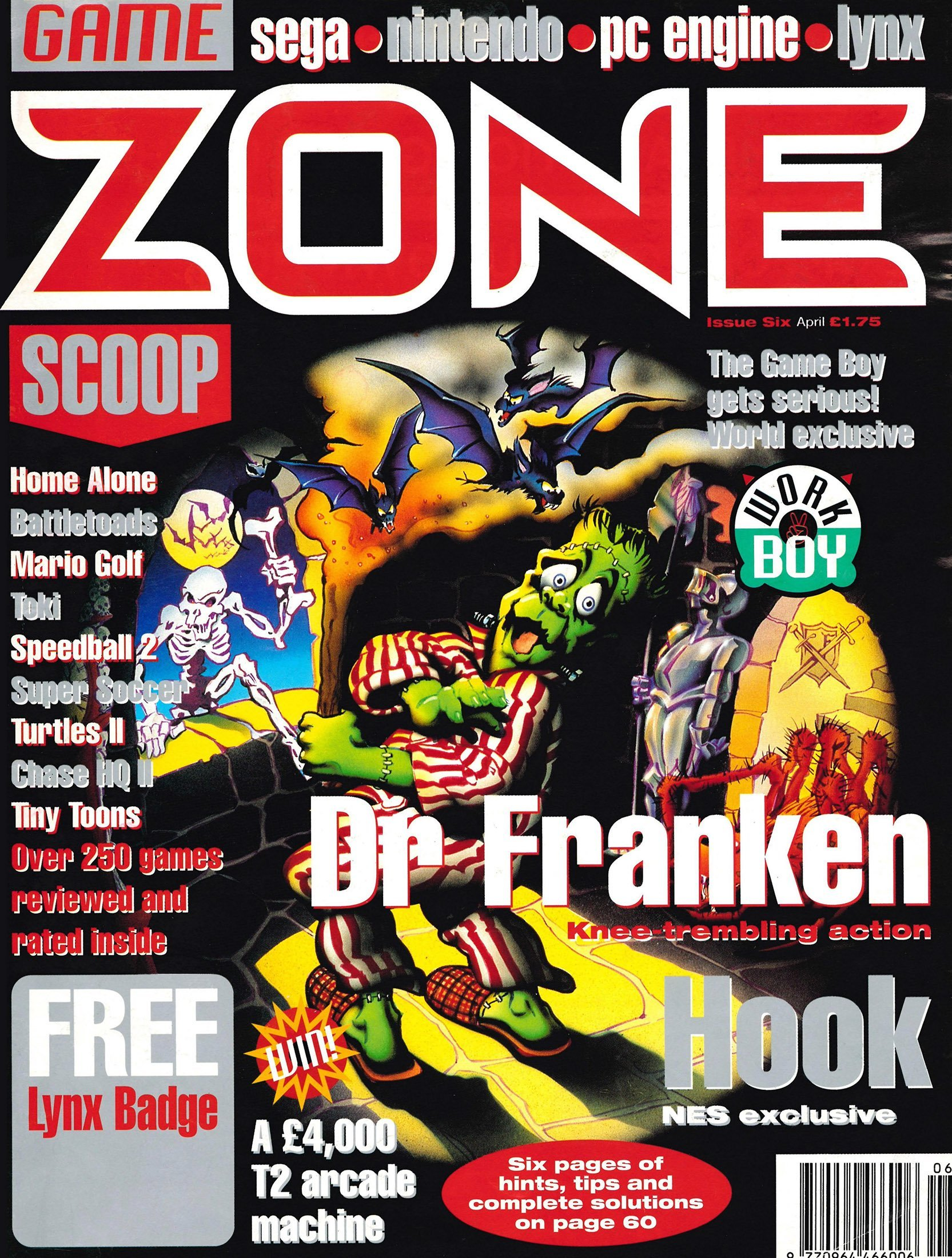 Game Zone Issue 06 (April 1992)