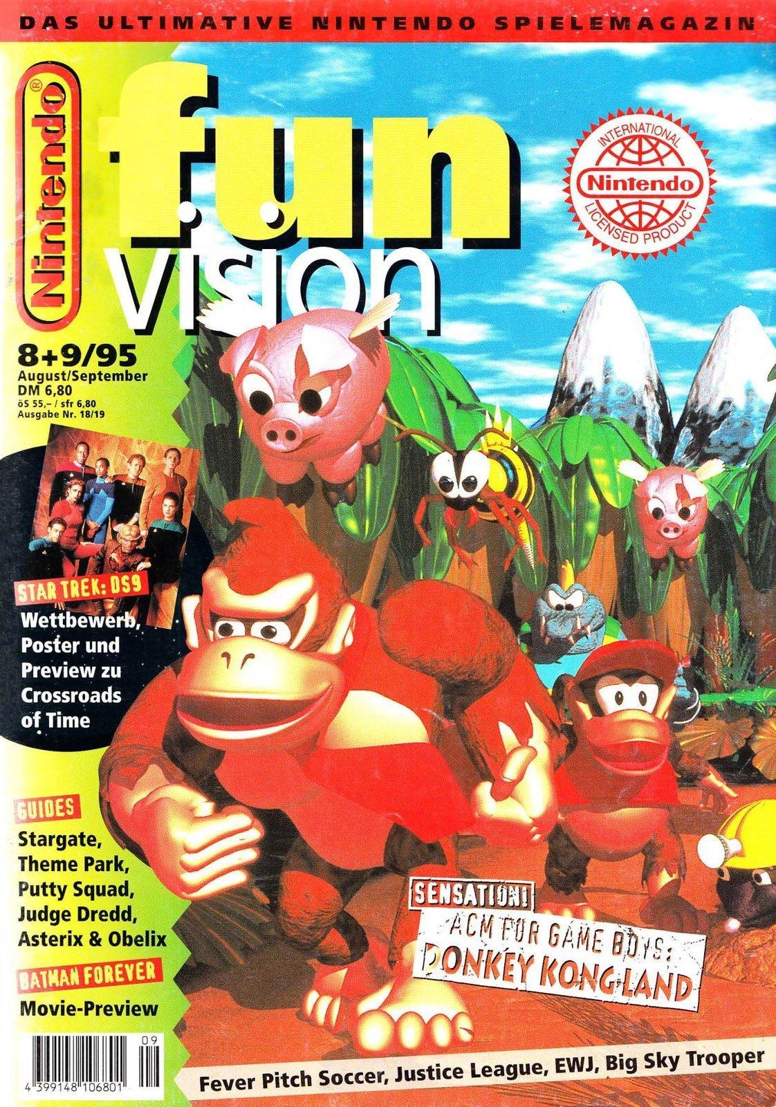 Nintendo Fun Vision Issue 18 (August / September 1995)