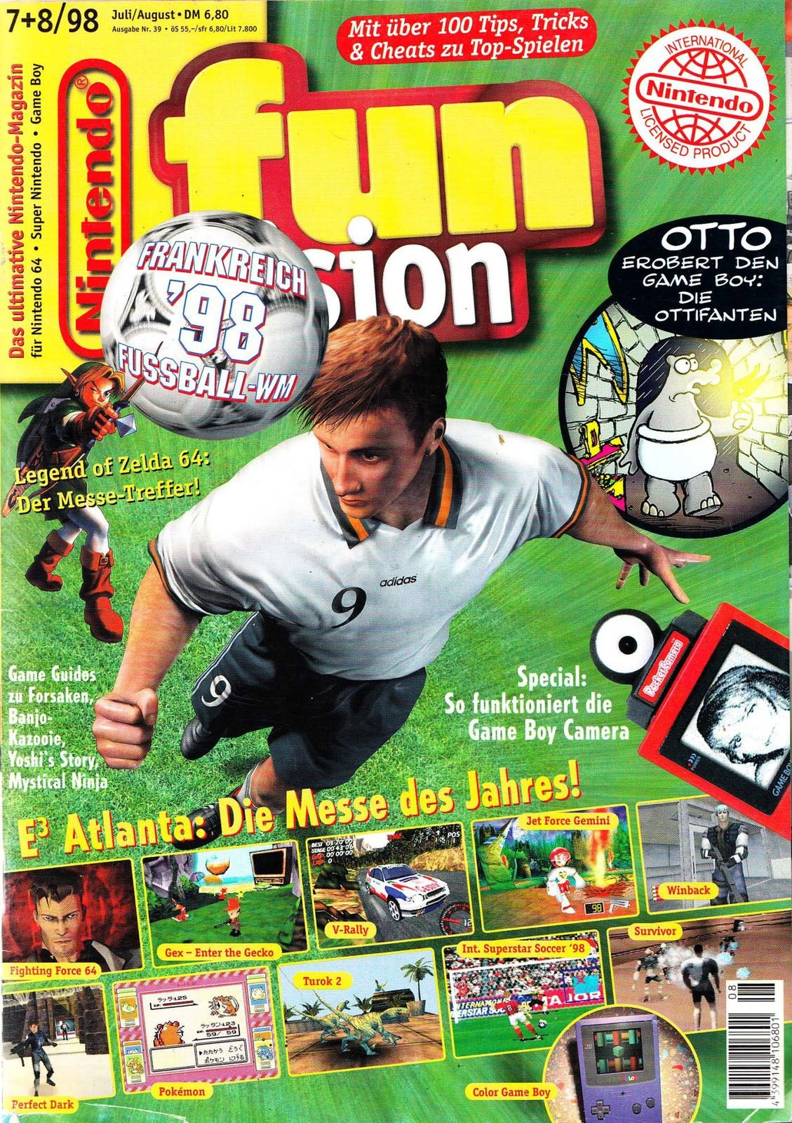 Nintendo Fun Vision Issue 52 (July / August 1998)