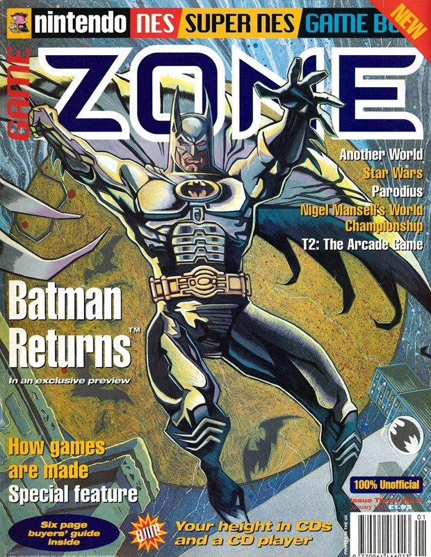 Nintendo Game Zone Issue 03 (January 1993)