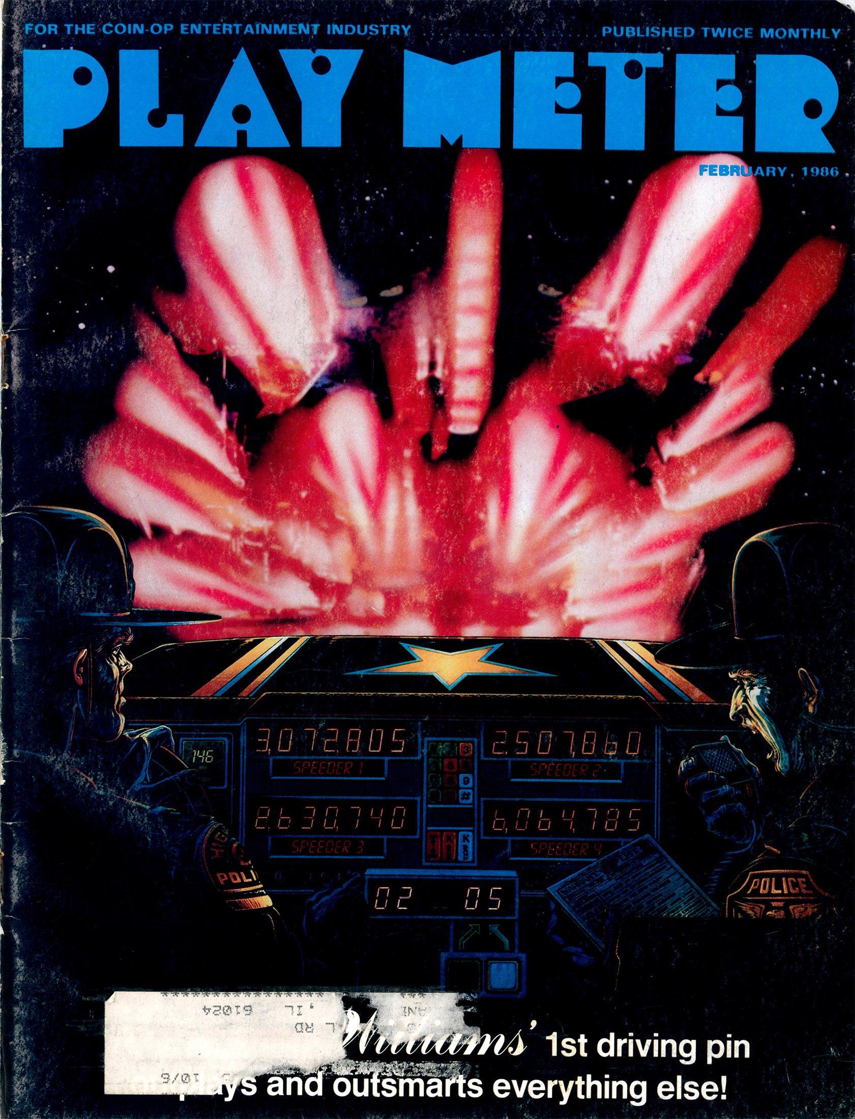 Play Meter Vol.12 No.2 (February 1986)